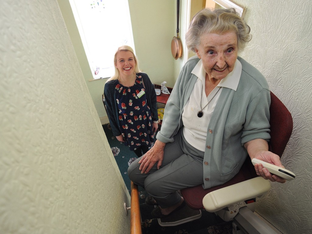 Stairlift fitting